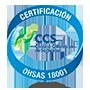 certificación ohsas