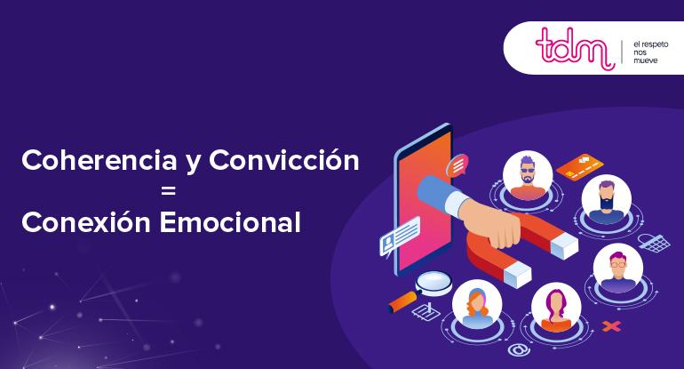 Coherencia y Convicción: Dos aspectos claves para una Conexión Emocional.