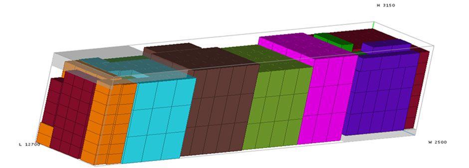 Planeación y optimización del cubicaje de la mercancía